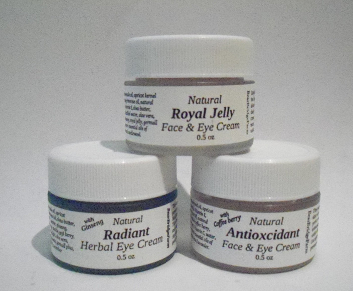 Natural Herbal Anti-aging Face & Eye Cream Trio