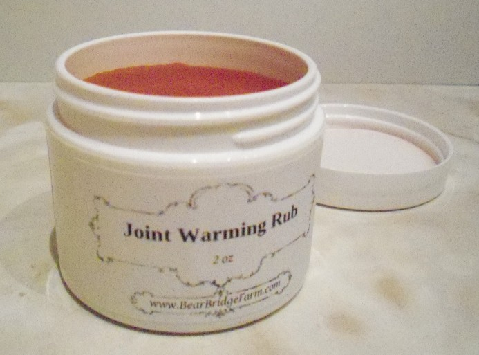 Joint Warming Rub